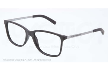 Dolce&Gabbana LIFESTYLE DG5006 Bifocal Prescription Eyeglasses 2616-54 - Black Rubber Frame
