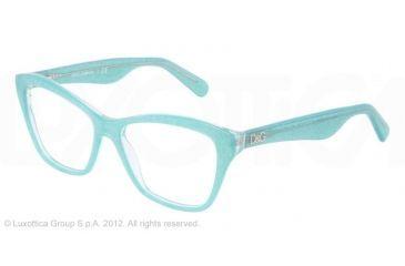 Dolce&Gabbana LIP GLOSS DG3167 Eyeglass Frames 2740-52 - Glitter Green Frame