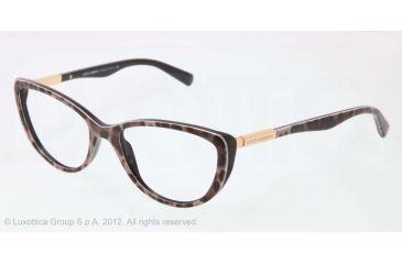 Dolce&Gabbana LIPSTICK DG3155 Bifocal Prescription Eyeglasses 1995-52 - Animalier Frame, Demo Lens Lenses