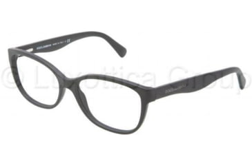 Dolce&Gabbana MATT SILK DG3136 Bifocal Prescription Eyeglasses 1934-5316 - Matte Black Frame
