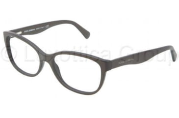 Dolce&Gabbana MATT SILK DG3136 Bifocal Prescription Eyeglasses 2582-5316 - Matte Brown Frame