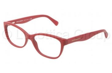 Dolce&Gabbana MATT SILK DG3136 Bifocal Prescription Eyeglasses 2583-5316 - Matte Cherry Frame, Demo Lens Lenses
