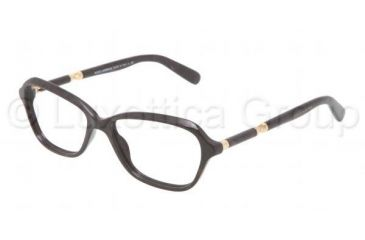 Dolce&Gabbana SICILY DG3145 Eyeglass Frames 1965-5315 - Brown Marble Frame