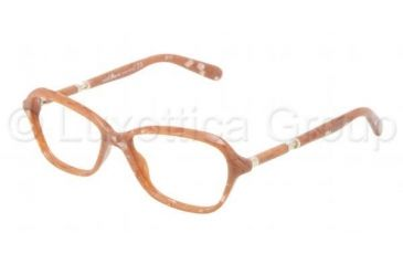 Dolce&Gabbana SICILY DG3145 Eyeglass Frames 2685-5315 - Camel Marble Frame, Demo Lens Lenses