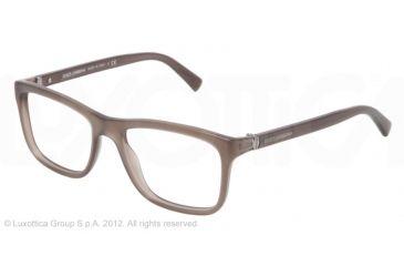 Dolce&Gabbana SMALL SICILIAN HINGE DG3164 Bifocal Prescription Eyeglasses 753-52 - Dark Green Frame