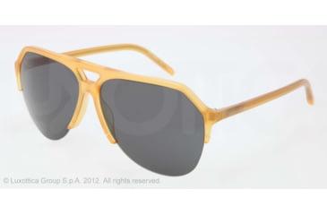 Dolce&Gabbana STEFANO - FASHION SHOW SS13 DG4178 Progressive Prescription Sunglasses DG4178-652-87-62 - Lens Diameter 62 mm, Lens Diameter 62 mm, Frame Color Honey