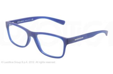 Dolce&Gabbana YOUNG&COLOURED DG5005 Eyeglass Frames 2727-54 - Matte Transparent Blue Frame