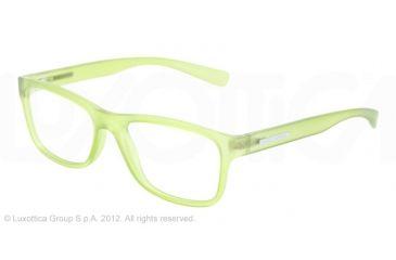 Dolce&Gabbana YOUNG&COLOURED DG5005 Eyeglass Frames 2728-54 - Matte Transparent Green Frame