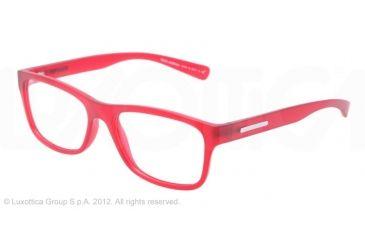 Dolce&Gabbana YOUNG&COLOURED DG5005 Eyeglass Frames 2753-54 - Matte Transparent Red Frame