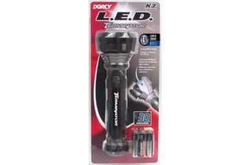Dorcy 41-4292 160 Lumens - 6AA LED Terminator Flashlight w/ Batteries