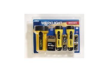 Dorcy 2- 2D / 6V Work Light Combo W/h.d.batteries 41-3352