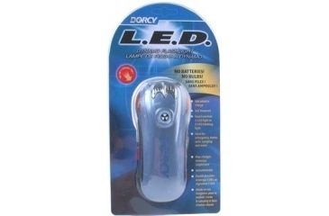 Dorcy 5 LED Dynamo Flashlight, Case of 3
