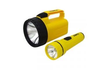 Dorcy 6V / 2D LED Flashlight Combo w/ Batteries 41-2802