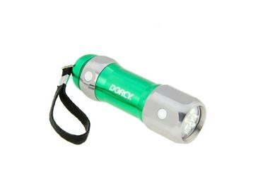 3-Dorcy Magnetic 27 Lumens LED Flashlight with Lanyard