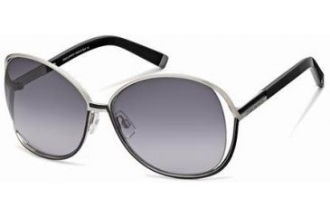 DSquared DQ0048 Sunglasses - Black Frame Color, Gradient Smoke Lens Color