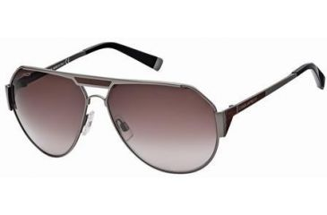 DSquared DQ0062 Sunglasses - Shiny Gun Metal Frame Color