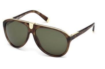 DSquared DQ0069 Sunglasses - Dark Havana Frame Color