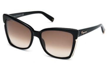 DSquared DQ0098 Sunglasses - Shiny Black Frame Color