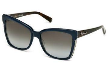 DSquared DQ0098 Sunglasses - Shiny Dark Green Frame Color