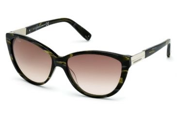 DSquared DQ0112 Sunglasses - Havana Frame Color, Gradient Smoke Lens Color