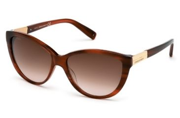 DSquared DQ0112 Sunglasses - Light Brown Frame Color