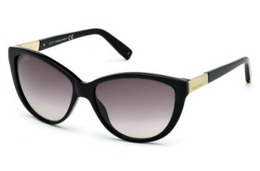DSquared DQ0112 Sunglasses - Shiny Black Frame Color