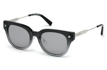 DSquared DQ0140 Sunglasses - Grey Frame Color, Smoke Mirror Lens Color