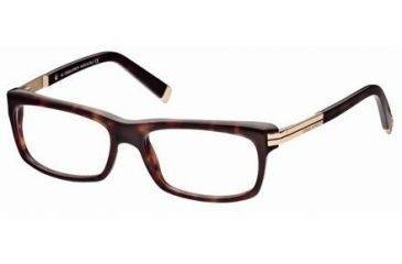 DSquared DQ5010 Eyeglass Frames - Dark Havana Frame Color