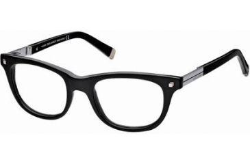 DSquared DQ5017 Eyeglass Frames - Shiny Black Frame Color
