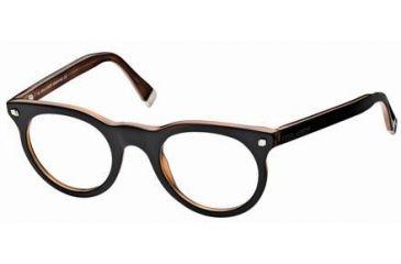 DSquared DQ5027 Eyeglass Frames - Black Frame Color