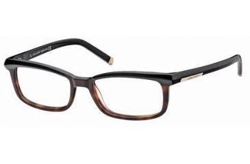DSquared DQ5034 Eyeglass Frames - Black Frame Color