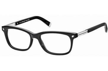 DSquared DQ5052 Eyeglass Frames - Shiny Black Frame Color
