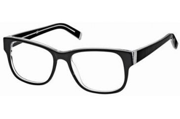 DSquared DQ5058 Eyeglass Frames - Black/Crystal Frame Color