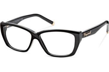 DSquared DQ5063 Eyeglass Frames - Frame 001, Size 54 DQ506354001
