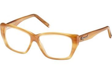 DSquared DQ5063 Progressive Prescription Eyeglasses - Frame 039, Size 54 DQ506354039