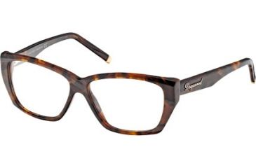 DSquared DQ5063 Progressive Prescription Eyeglasses - Frame 052, Size 54 DQ506354052