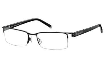 DSquared DQ5069 Eyeglass Frames - Matte Black Frame Color