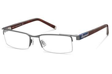 DSquared DQ5069 Eyeglass Frames - Matte Blue Frame Color