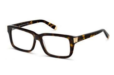 DSquared DQ5083 Eyeglass Frames - Dark Havana Frame Color