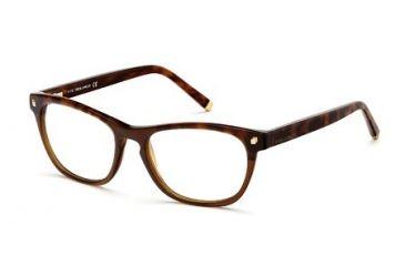 DSquared DQ5084 Eyeglass Frames - Dark Brown Frame Color