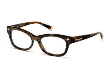 DSquared DQ5085 Eyeglass Frames - Coloured Havana Frame Color