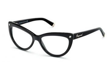 DSquared DQ5086 Eyeglass Frames - Shiny Black Frame Color