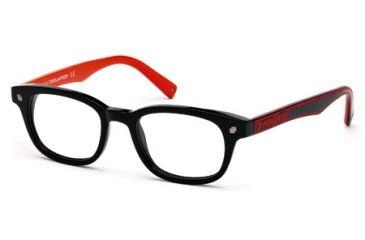 DSquared DQ5098 Eyeglass Frames - Shiny Black Frame Color