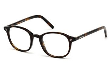 DSquared DQ5124 Eyeglass Frames - Dark Havana Frame Color