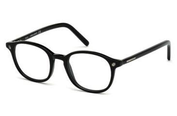 DSquared DQ5124 Eyeglass Frames - Shiny Black Frame Color