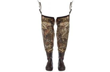 Duck Commander 4mm Neoprene Hip Boots, 600 Gram Size 14, Advantage Max4 65014