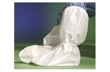 DuPont Tyvek Boot Covers IC446SWHLG00 Not Clean Processed With Ankle Ties