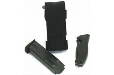 BlackHawk Duty H/V Single Pistol Pouch Fold Knife Sheath 45FK00BK