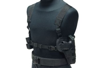 Eagle Industries Tanker Style Holster-Harness and Mag Pouch