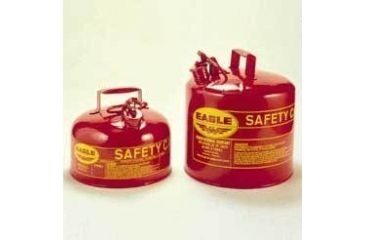 Eagle Manufacturing Type I Safety Cans, Galvanized Steel, Eagle Manufacturing UI-4S 1.9 L (2 qt.)